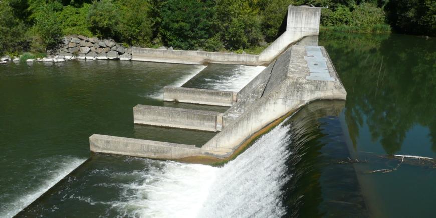 Centrale hydroélectrique Barrage de Booz