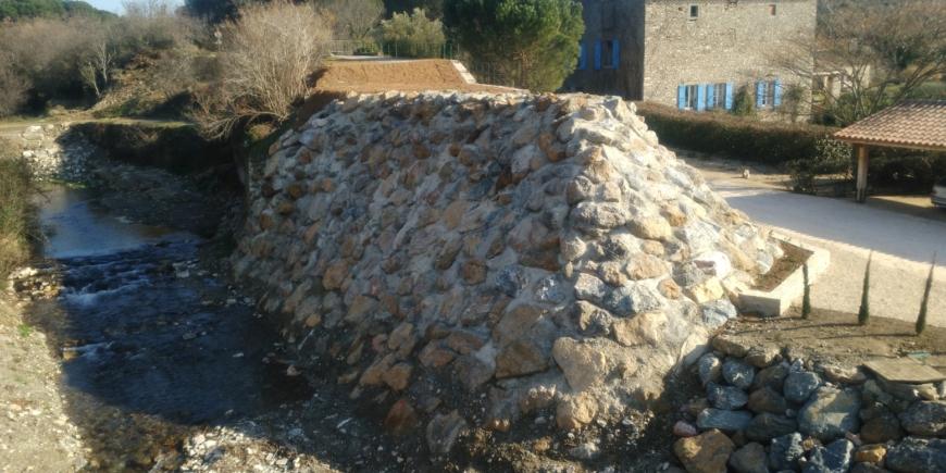 Restauration hydraulique de l'Argent Double secteur Pont d'Amiel